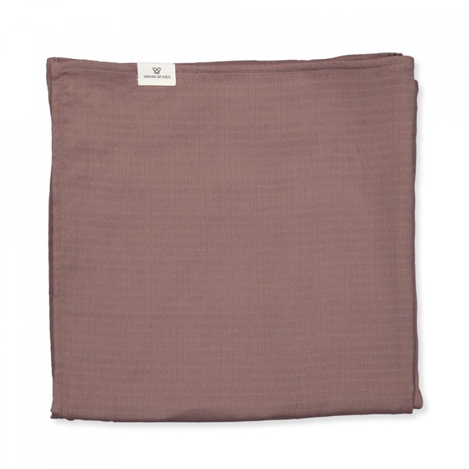 Organic Toronto tæppe - muslin
