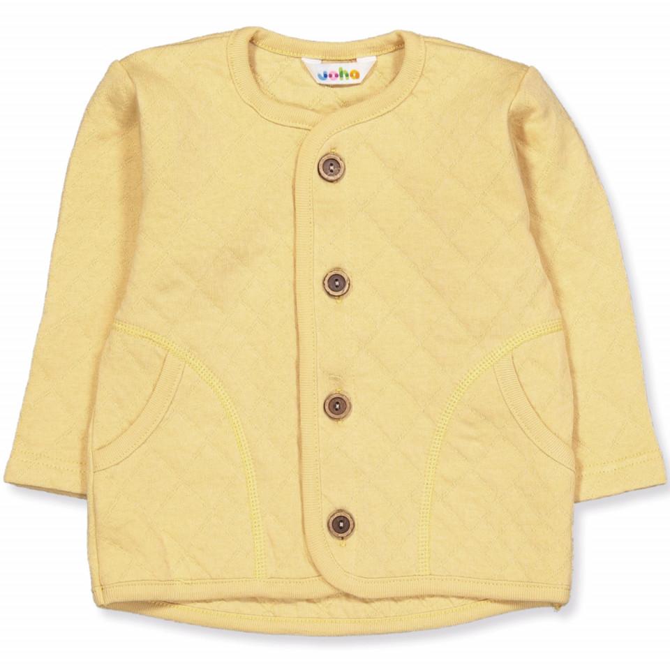 Organic mustard cardigan