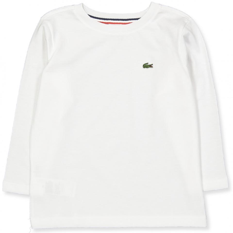 Hvid bluse