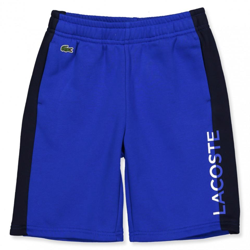 Blå shorts