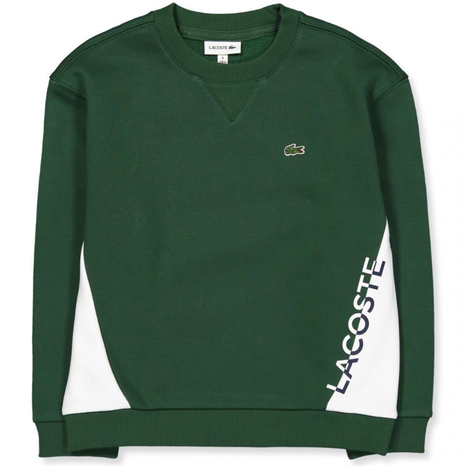 Grøn sweatshirt