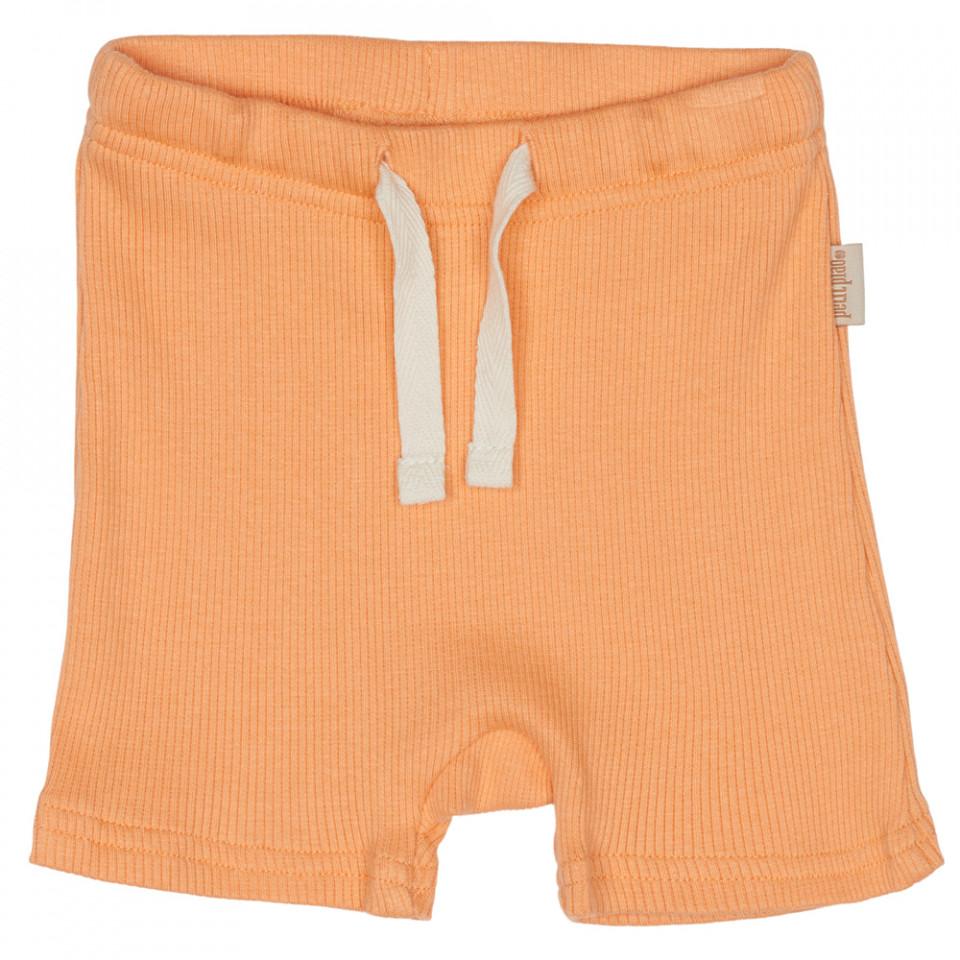 Peach naught shorts