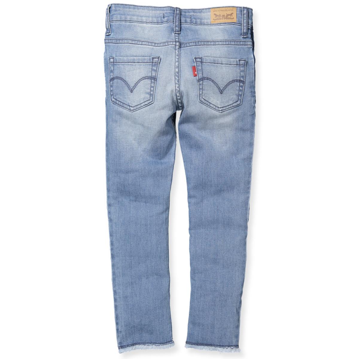 Blå jeans - pige