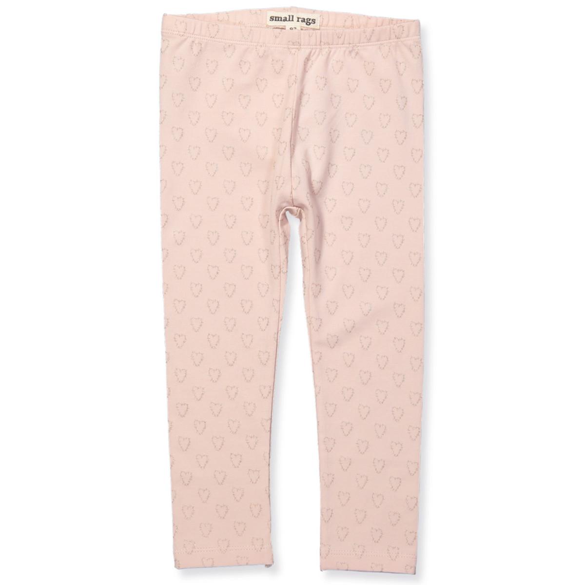 Lyserøde leggings - glitter