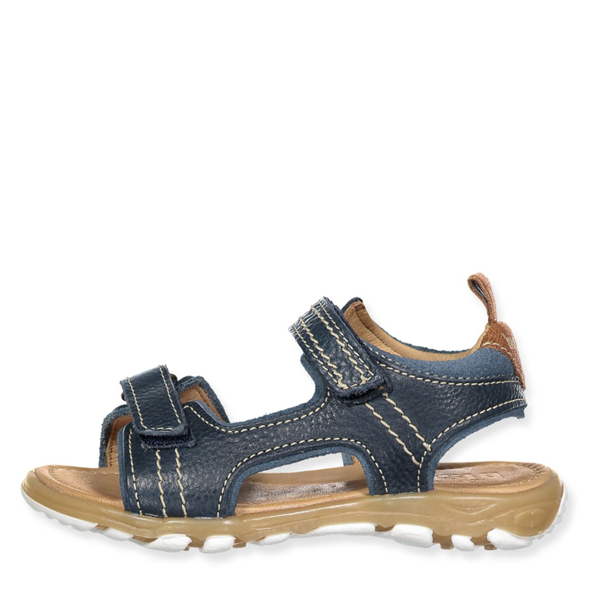 Blå sandaler
