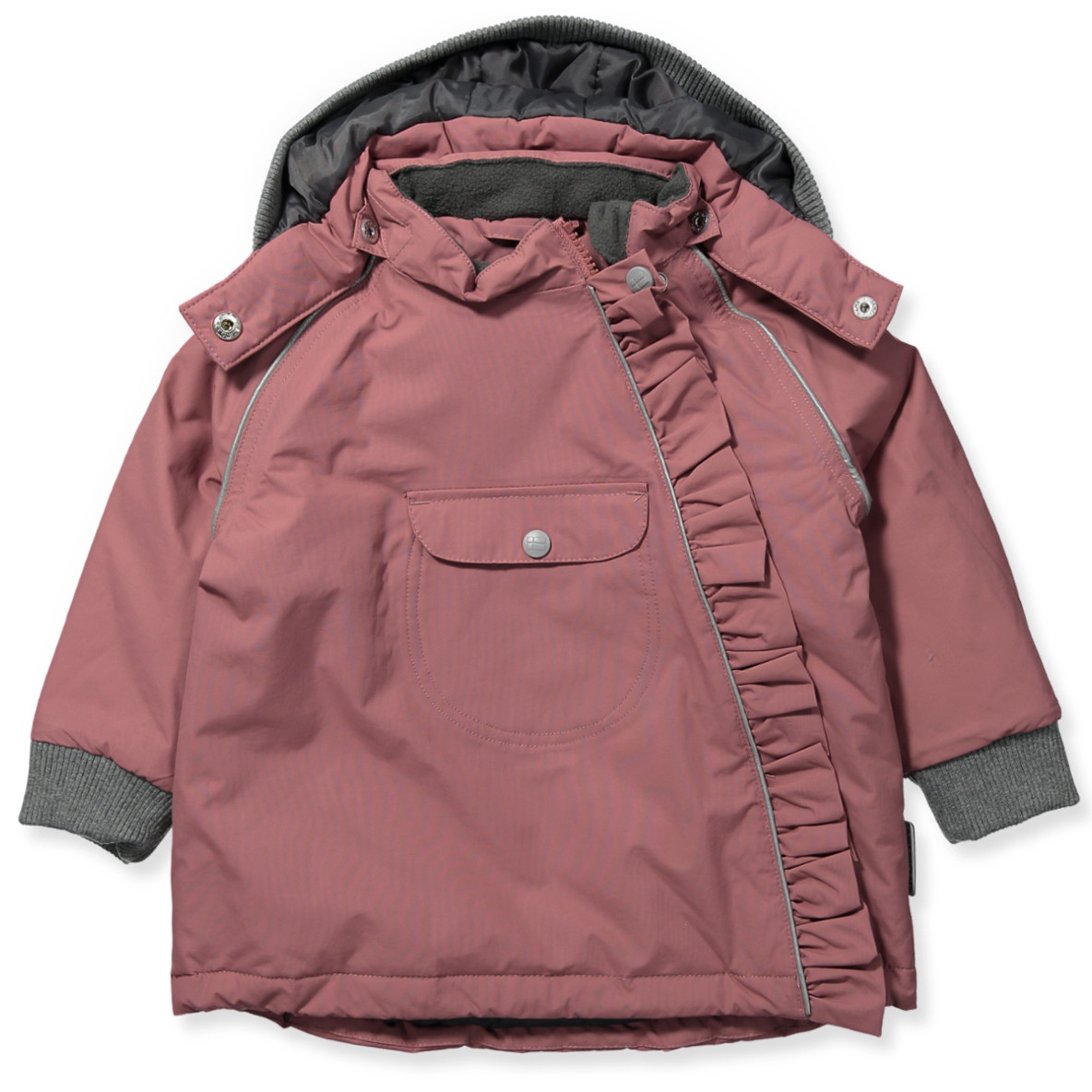a061c6ddf5a Hust & Claire - Oby fashion vinterjakke - Deco rose