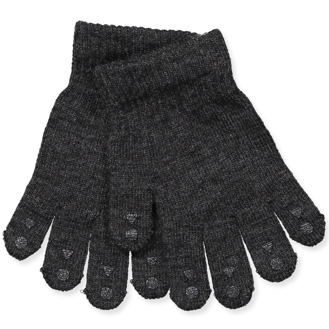3ccebbb70d8 GobabyGo - Mørkegrå uld handsker - Dark Grey Melange