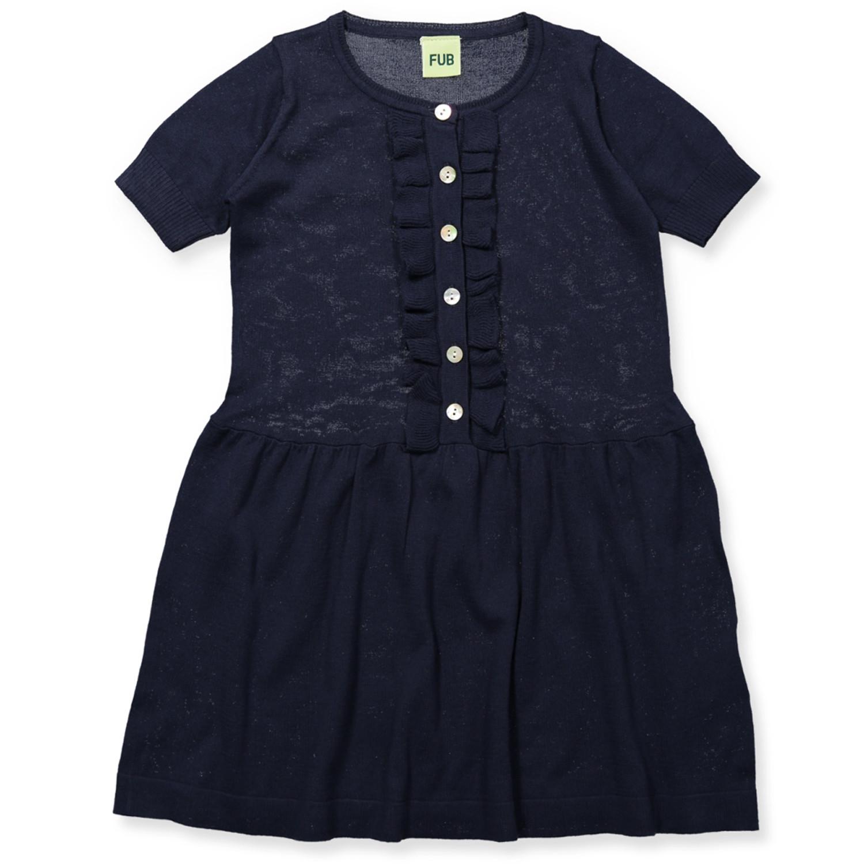 b0bfc7adb202 Fub - Organic kjole - Strik - light grey - Grå