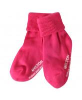 Pink basis strømper