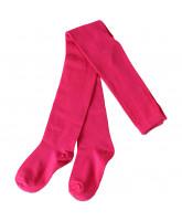 Pink basic strømpebukser