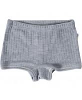 Grå uld panties
