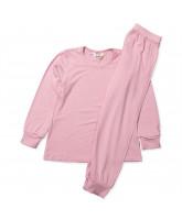 Rosa bambus nattøj