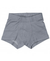 Grå uld/silke boxershorts