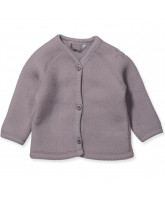 Lilla merino uld fleece cardigan