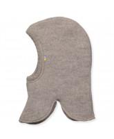 Beige uld fleece elefanthue
