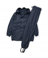 Navy gummi regntøj