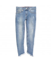 Nora cropped skinny jeans