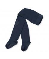 Navy non-slip strømpebukser