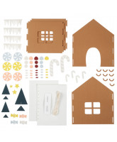 Gingerbread House Kit DIY