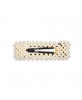 Perle hårspænde - 8 cm