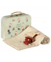 Rust baby gavesæt i kuffert