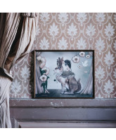 Miss Poppy plakat - 50x40 cm