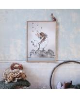 Miss Edda plakat - 50x70 cm