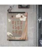 123 plakat - 50x70 cm