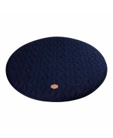 Dark blue legemadras
