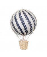 Dark blue lufballon 20 cm
