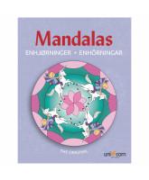 Mandalas - enhjørninger