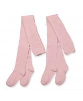 2 pak rosa strømpebukser