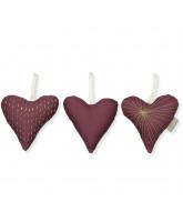 Organic 3 pak hjerter