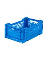Foldekasse mini - electric blue