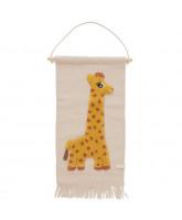 Giraf vægtæppe