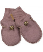 Rosa uld fleece vanter