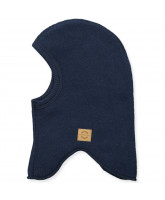 Navy uld fleece elefanthue
