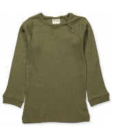 Olive green bluse