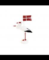 Stork med flag