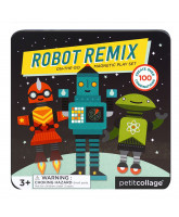 Mix & Match magnetiske robotter