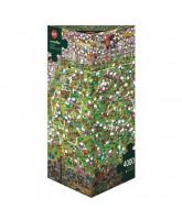 Crazy World Cup puslespil - 4000 brikker