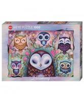 Great Big Owl puslespil - 1000 brikker