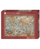 The World puslespil - 2000 brikker