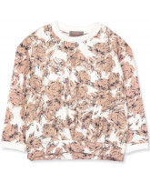 Big flowers sweatshirt