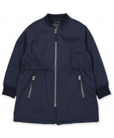 Navy softshell frakke