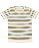Organic stribet t-shirt