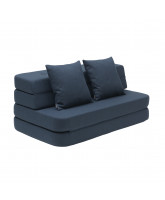3 fold sofa - dark blue