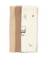 Organic 3 pak panda stofbleer