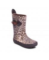 Leopard gummistøvler