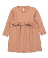 Sofia frill kjole - soft sweat
